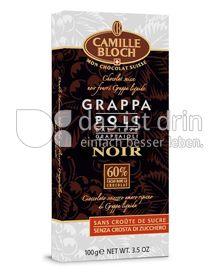 Produktabbildung: Camille Bloch Grappa Poli Noir 100 g