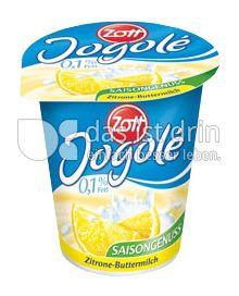 Produktabbildung: Zott Jogolé Zitrone Buttermilch 150 g
