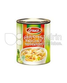 Produktabbildung: Erasco Rindfleisch-Suppentopf 780 ml