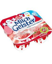 Produktabbildung: Zott Milchgeister Erdbeere 240 g