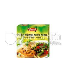 Produktabbildung: Erasco Pute in Steinpilz-Sahne-Sauce 450 g