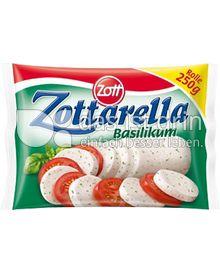 Produktabbildung: Zott Zottarella Rolle Basilikum 250 g