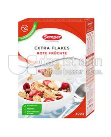 Produktabbildung: Semper glutenfrei Extra Flakes Rote Früchte 300 g