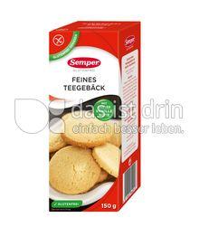 Produktabbildung: Semper glutenfrei Feines Teegebäck 150 g