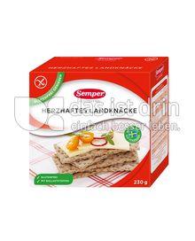 Produktabbildung: Semper glutenfrei Herzhaftes Landknäcke 230 g
