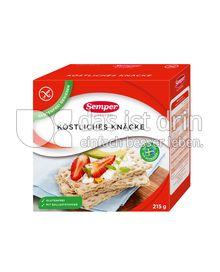 Produktabbildung: Semper glutenfrei Köstliches Knäcke 215 g