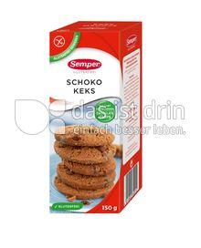 Produktabbildung: Semper glutenfrei Schoko Keks 150 g
