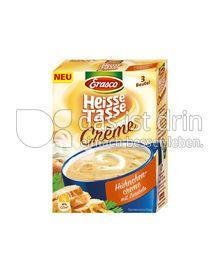 Produktabbildung: Erasco Heisse Tasse Crème Hühnchencreme mit Zwiebeln 3 St.