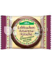 Produktabbildung: Allos Lebkuchen Amarena-Kirsche 50 g
