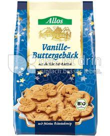 Produktabbildung: Allos Vanille-Buttergebäck 125 g