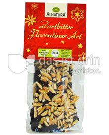 Produktabbildung: Alnatura Zartbitter Florentiner Art 100 g