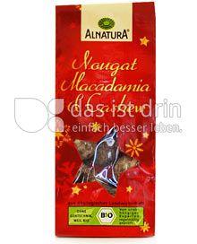 Produktabbildung: Alnatura Nougat Macadamia & Cashew 90 g