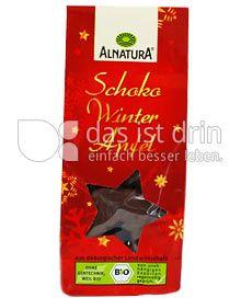 Produktabbildung: Alnatura Schoko Winter Apfel 70 g