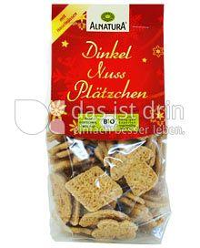 Produktabbildung: Alnatura Dinkel Nuss Plätzchen 150 g