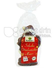 Produktabbildung: Alnatura Schoko Weihnachtsmann 80 g