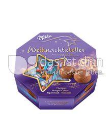 Produktabbildung: Milka Weihnachts-Teller 195 g