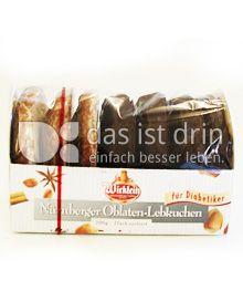 Produktabbildung: Wicklein Nürnberger Oblaten-Lebkuchen 200 g