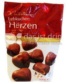 Produktabbildung: Wintertraum Lebkuchen Herzen 300 g