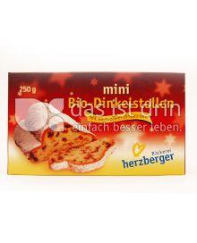 Produktabbildung: Bäckerei herzberger mini Bio-Dinkelstollen 250 g
