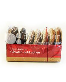 Produktabbildung: Wintertraum Oblaten-Lebkuchen 200 g
