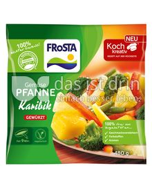 Produktabbildung: FRoSTA Gemüse Pfanne Karibik 480 g