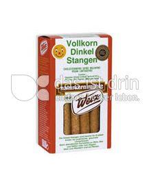 Produktabbildung: Werz Dinkel-Vollkorn-Stangen 125 g