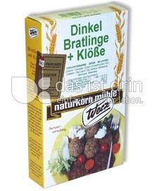 Produktabbildung: Werz Dinkel-Bratlinge & Klöße 2 St.