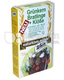 Produktabbildung: Werz Grünkern-Bratlinge & Klöße