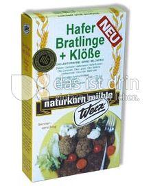 Produktabbildung: Werz Hafer-Bratlinge & Klöße 3 St.