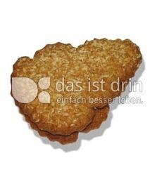 Produktabbildung: Werz Dinkel-Kokos-Herzen ohne Glasur 1500 g