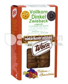 Produktabbildung: Werz Vollwert-Dinkel-Zwieback 175 g