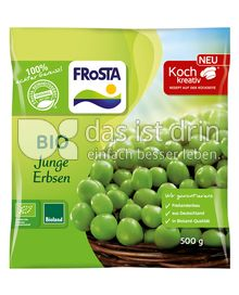 Produktabbildung: FRoSTA Bioland junge Erbsen 500 g