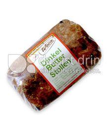 Produktabbildung: Werz Dinkel-Butter-Stollen, 400 g