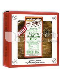 Produktabbildung: Werz 4-Korn-Brot 500 g