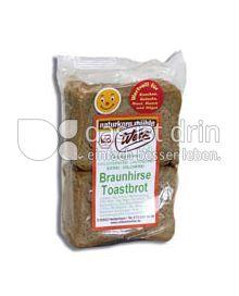 Produktabbildung: naturkorn mühle Werz Braunhirse Toastbrot 250 g