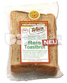 Produktabbildung: Werz Reis-Toastbrot 250 g