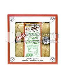 Produktabbildung: Werz 4-Korn-Vollkorn-Brötchen 4 St.