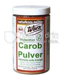 Produktabbildung: Werz Carob-Pulver 200 g