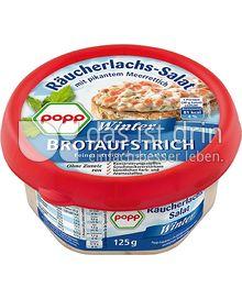 Produktabbildung: Popp Räucherlachs-Salat mit pikantem Meerettich 125 g