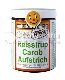Produktabbildung: Werz Reissirup-Carob-Aufstrich 300 g