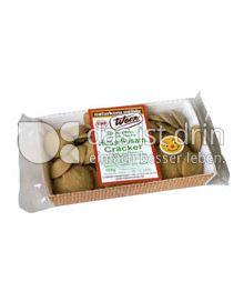 Produktabbildung: Werz Hirse-Vollkorn-Sesam-Cräcker 100 g