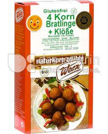 Produktabbildung: Werz 4-Korn-Vollkorn-Bratlinge & Klöße 250 g