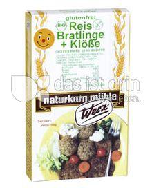 Produktabbildung: Werz Reis-Vollkorn-Bratlinge und Klöße 150 g