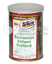 Produktabbildung: Werz Buchweizen-Vollwert-Kraftbrot 250 g