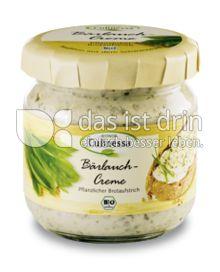 Produktabbildung: BIONOR Culinessa Bärlauch-Creme 180 g