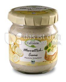 Produktabbildung: BIONOR Culinessa Meerrettich-Creme 180 g