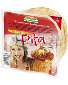 Produktabbildung: Mestemacher Sonnenblumen Pita 400 g