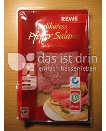 Produktabbildung: REWE Delikatess Pfeffer Salami 80 g
