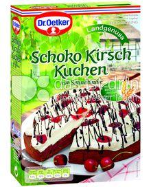 Produktabbildung: Dr. Oetker Schoko Kirsch Kuchen 345 g