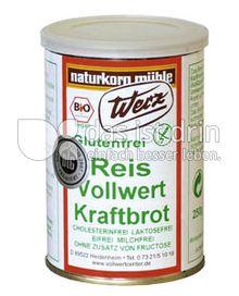 Produktabbildung: Werz Reis-Vollwert-Kraftbrot 250 g